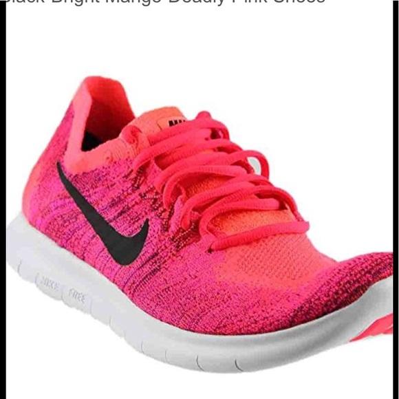 Wmns Nike Flex 2017 Rn Run Solar Red Black Women Runnin